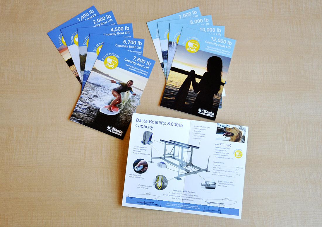 Basta Boatlifts Small Brochures