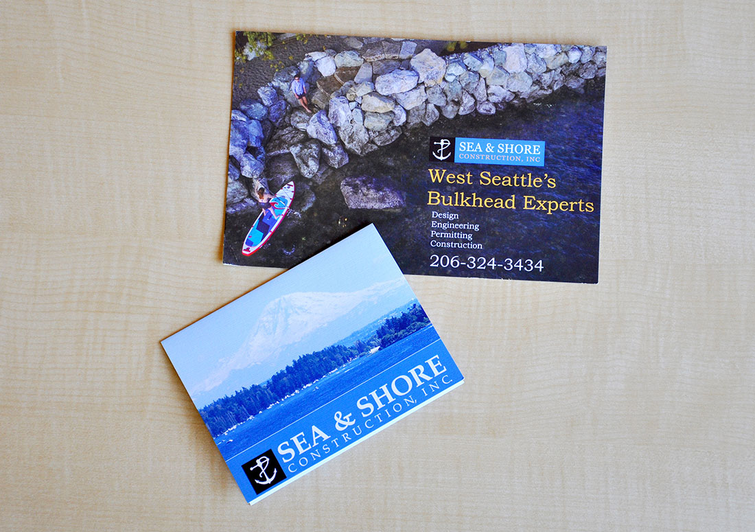 Sea & Shore Construction Direct Mail