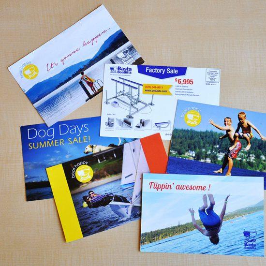 Basta BoatLift Direct Mail