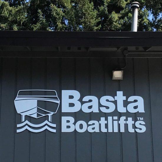 Basta BoatLift Signage