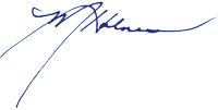 Mary Holmes Signature